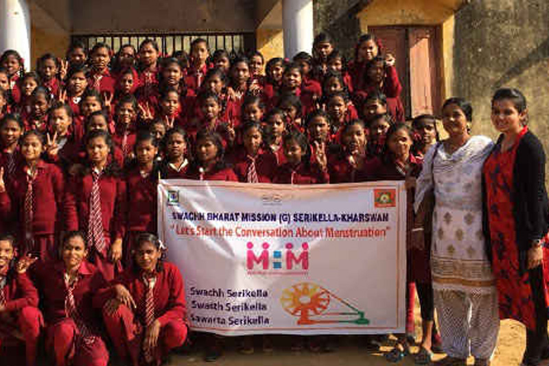 Jharkhand's Remote District Launches A Campaign On Menstrual Waste Management