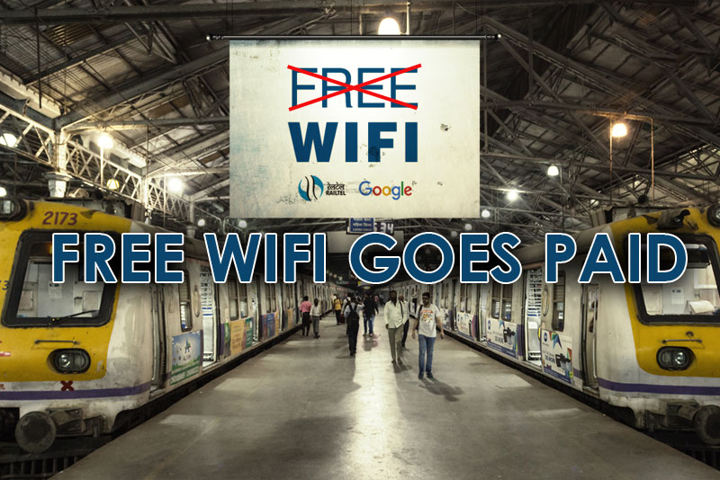 Google Station Wi-Fi Goes Paid at Selected Stations With Free High-Speed Access Restricted to only 30 Minutes