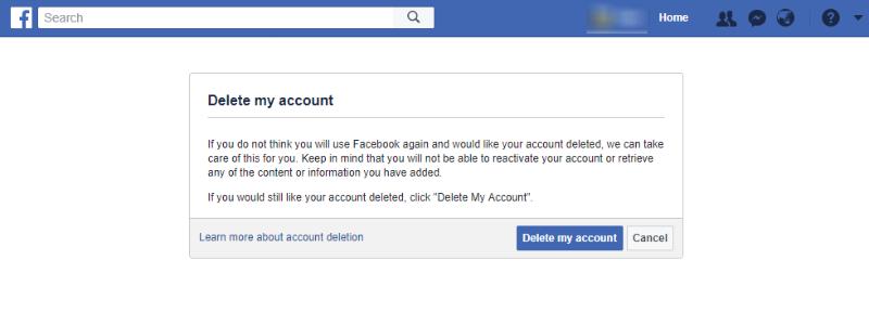 how to delete admin account