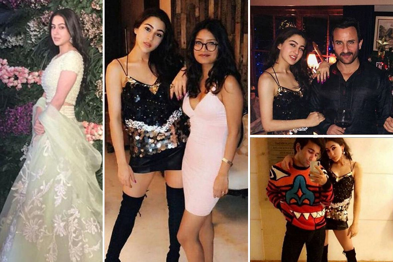 Saif Parties With Daughter Sara Ali Khan. Can't Find Kareena Kapoor