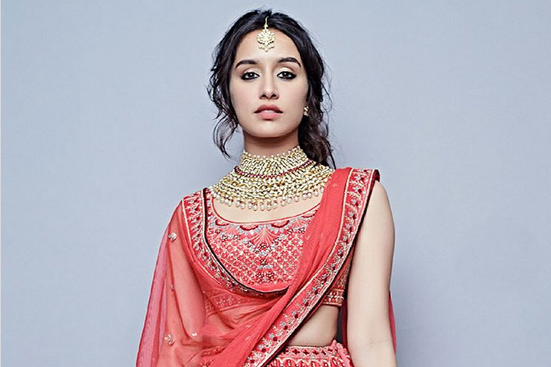 shraddha kapoor looks stunning in these new designs by anita dongre